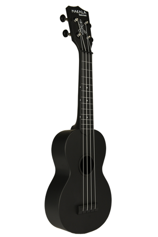 KA-SWB Kala Waterman Soprano Ukulele in Black