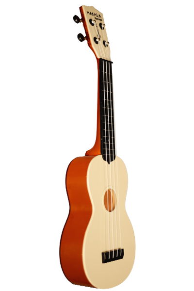 MK-SWT Makala Waterman Soprano Ukulele in Translucent Orange