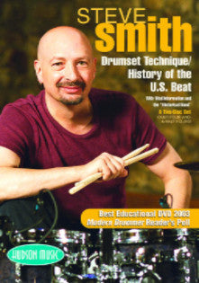 Steve Smith – Drum Set Technique/History of the U.S. Beat 2-Disc DVD Set