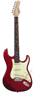 Tagima T-635MR Classic Series Electric Guitar In Metallic Red