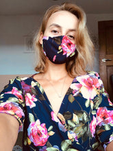 Load image into Gallery viewer, Floral Face Mask