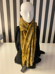 Bronze, Tan And Nude Animal Print Scarf