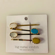 Load image into Gallery viewer, Resin Shell Hair Clip Multi Pack