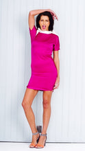 Load image into Gallery viewer, Pink Short Fitted Dress