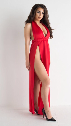 Ruby Grace - Red Dress