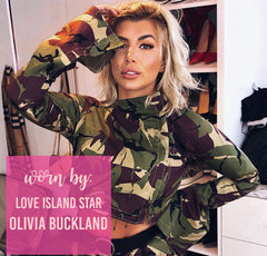 Army Style Cropped Jacket