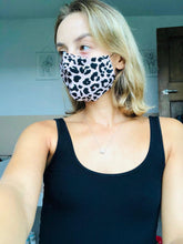 Load image into Gallery viewer, Pink Leopard Print Face Mask