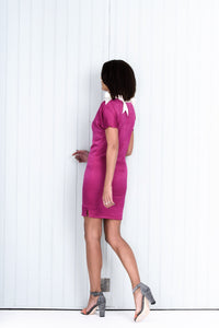 Pink Short Fitted Dress