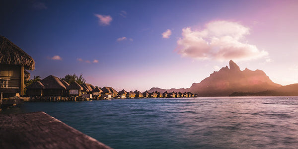 couple vacations in bora bora