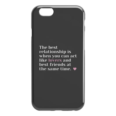 Best Friends And Lovers IPhone Case - Phone Cases 2 - iPhone 6 6S