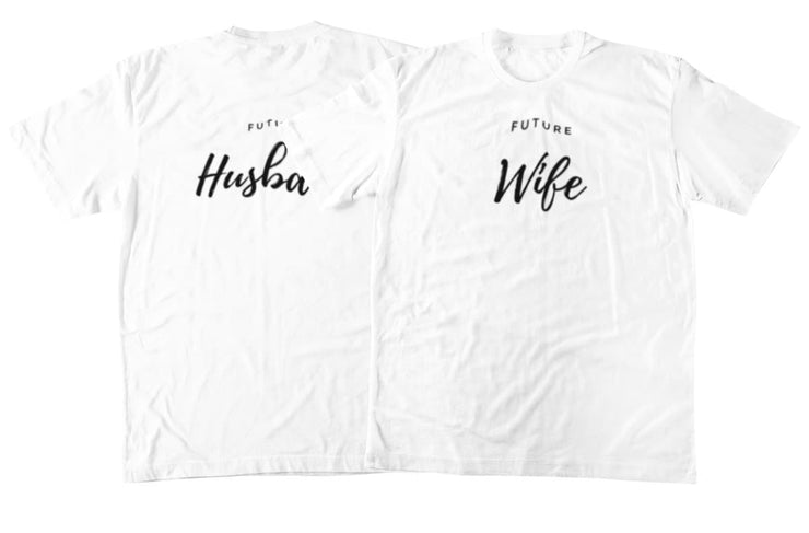 Future Wife And Husband Couple Shirts - CoupleGifts.com