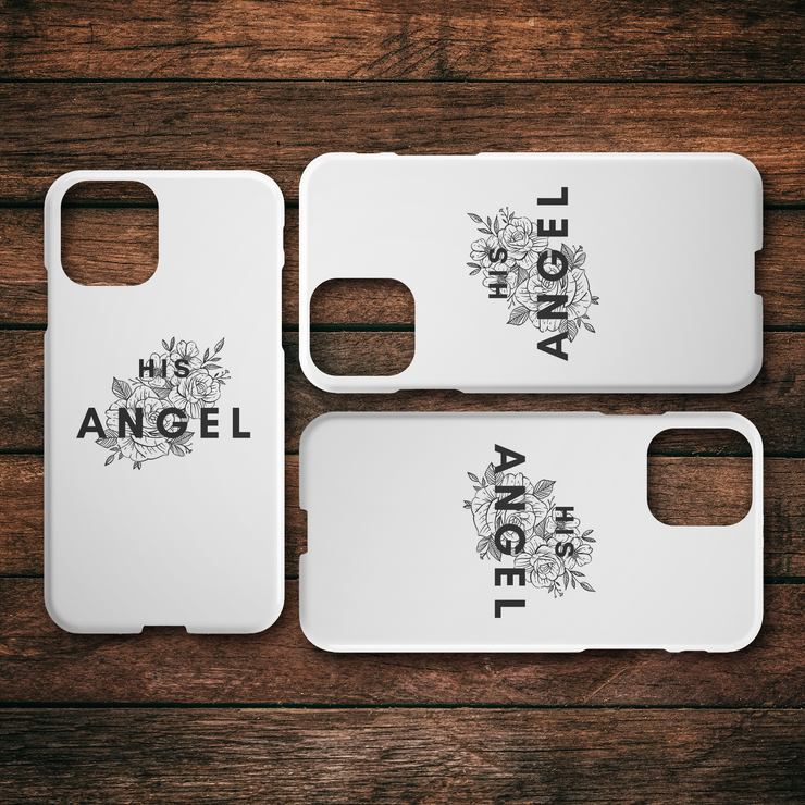 His Angel iPhone Case