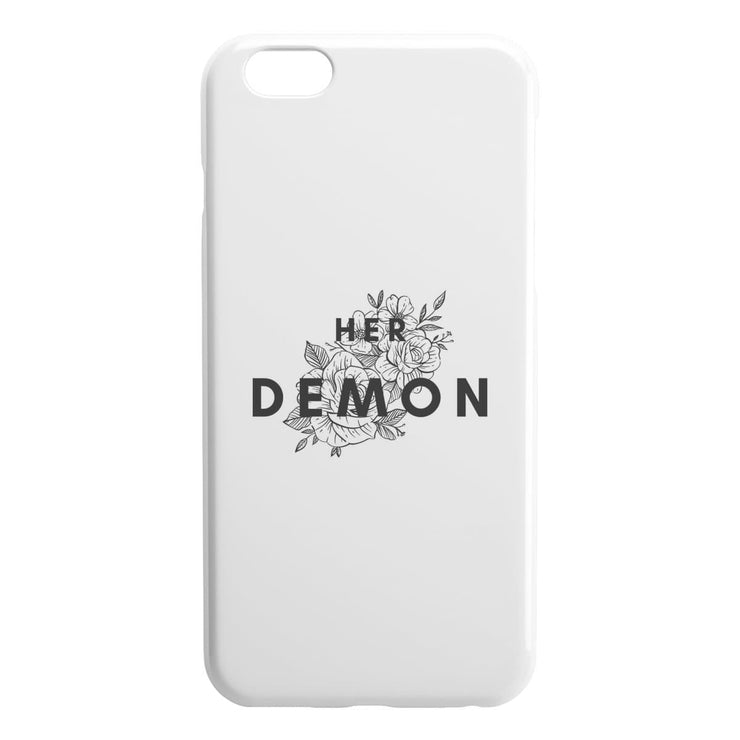 Her Demon iPhone Case - CoupleGifts.com