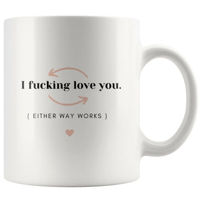 I Fucking Love You Couple Mug - Drinkware - I Fucking Love You Couple Mug