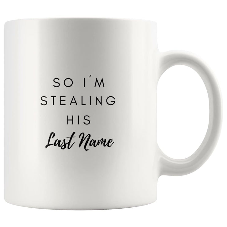 I Stole Her Heart Matching Couple Mugs - CoupleGifts.com