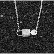 Key Lock Necklace - CoupleGifts.com