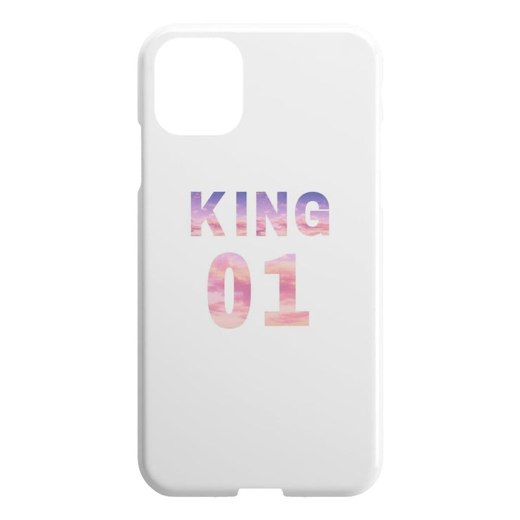 King 01 iPhone Case - CoupleGifts.com