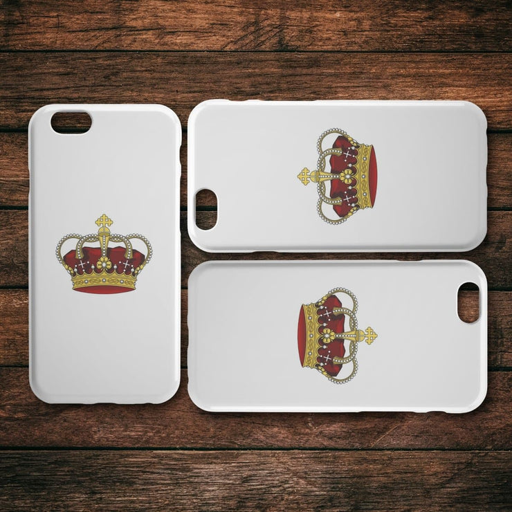 King Crown iPhone Case - CoupleGifts.com