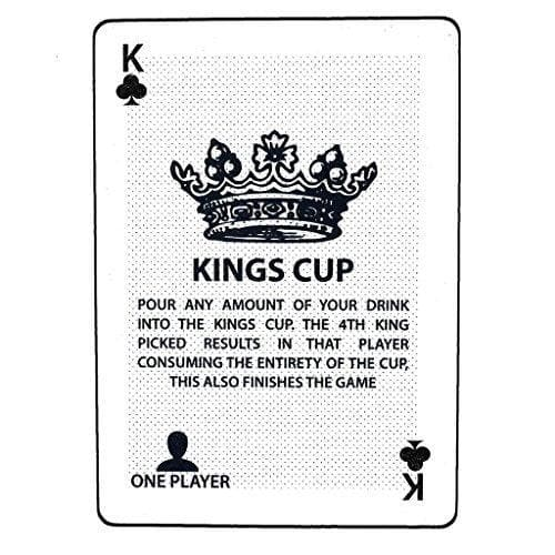 Kings Cup - Waterproof Drinking Game - CoupleGifts.com