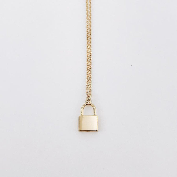 Locked Necklace - CoupleGifts.com