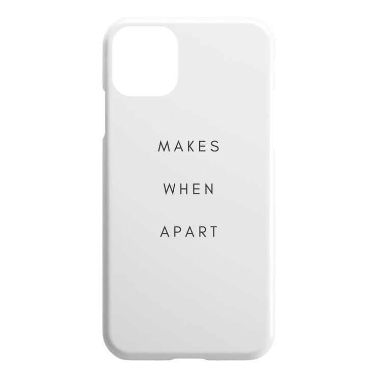 Makes When Apart IPhone Case - CoupleGifts.com