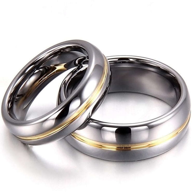 Matching Promise Rings for Couples - CoupleGifts.com