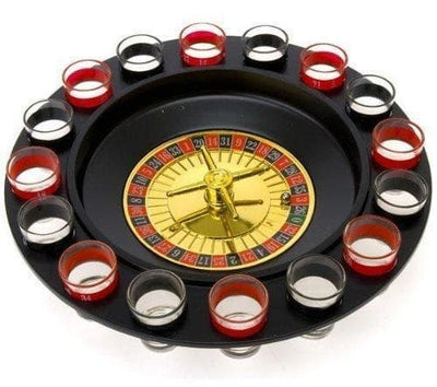 Shot Glass Roulette - Drinking Game Set - Games -