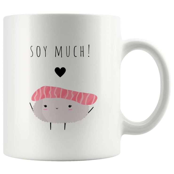 Soy Sauce And Sushi Matching Couple Mugs - CoupleGifts.com