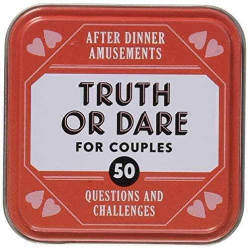 Truth or Dare for Couples - Card Game with 50 Questions and Challenges - CoupleGifts.com