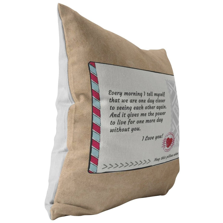 Upload Your Photo - Personalizable Postcard Pillow - CoupleGifts.com
