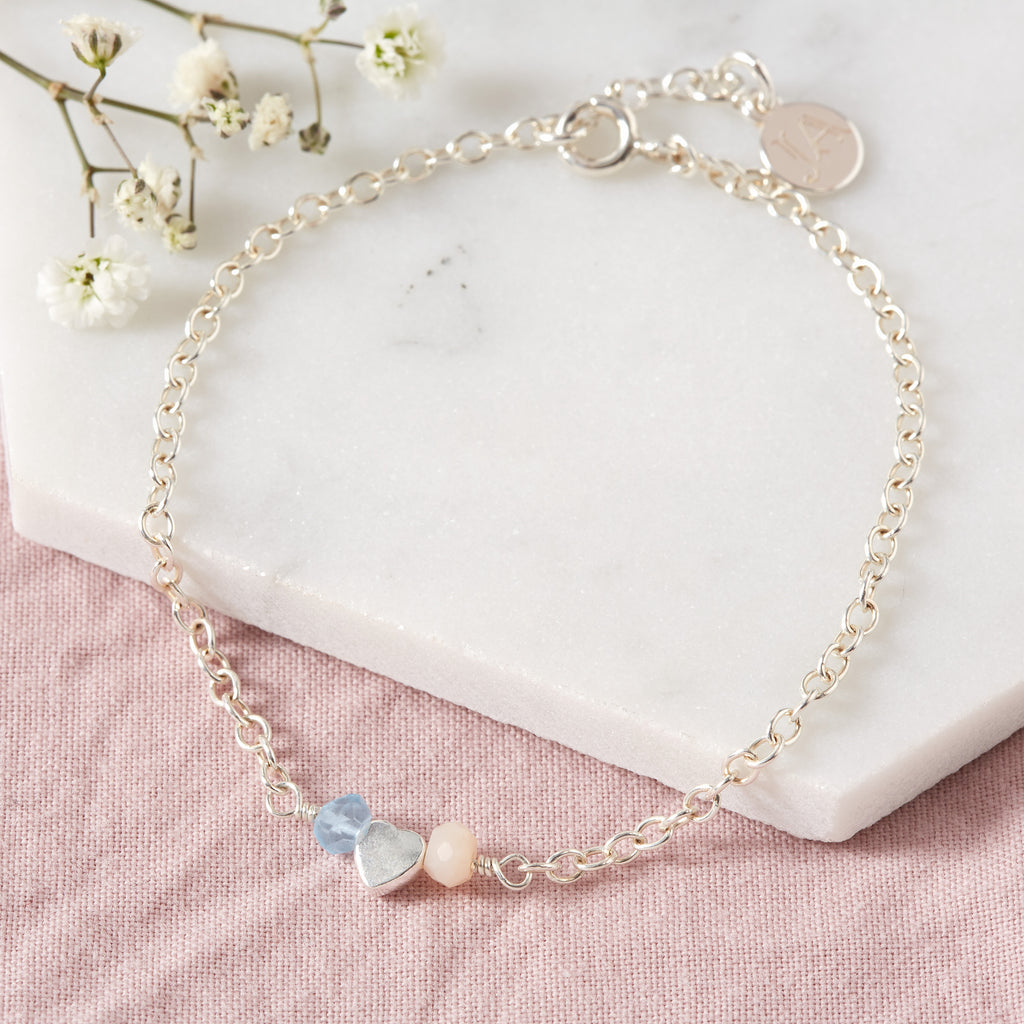 Personalised Birthstone Bracelet | 'Tilly Loves' Bracelet