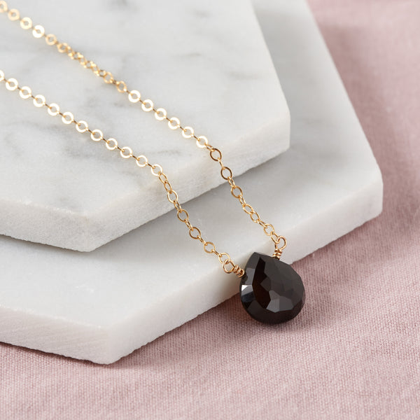 Black Spinel Necklace | Love & Passion