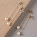 Freshwater Pearl Long Drop Earrings