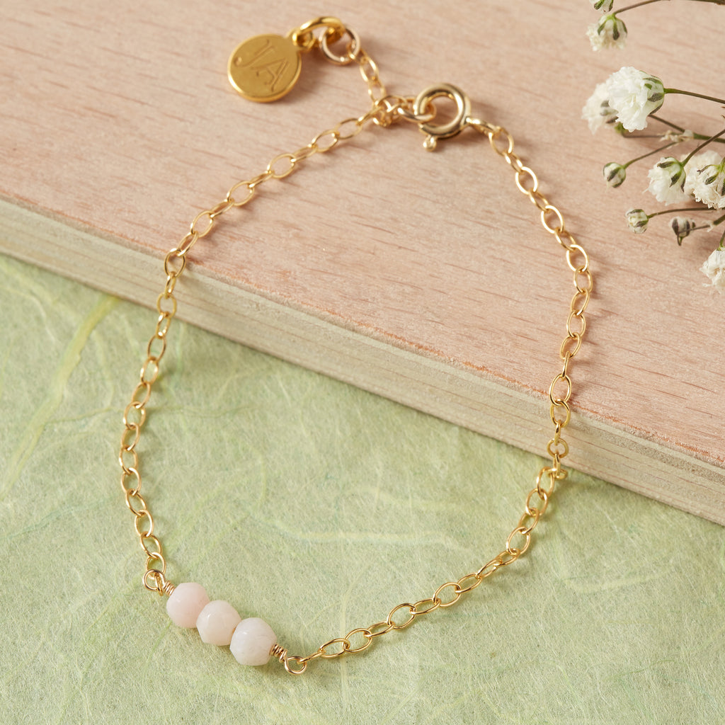 Pink Opal Bracelet | Creativity, Reflection & Desire