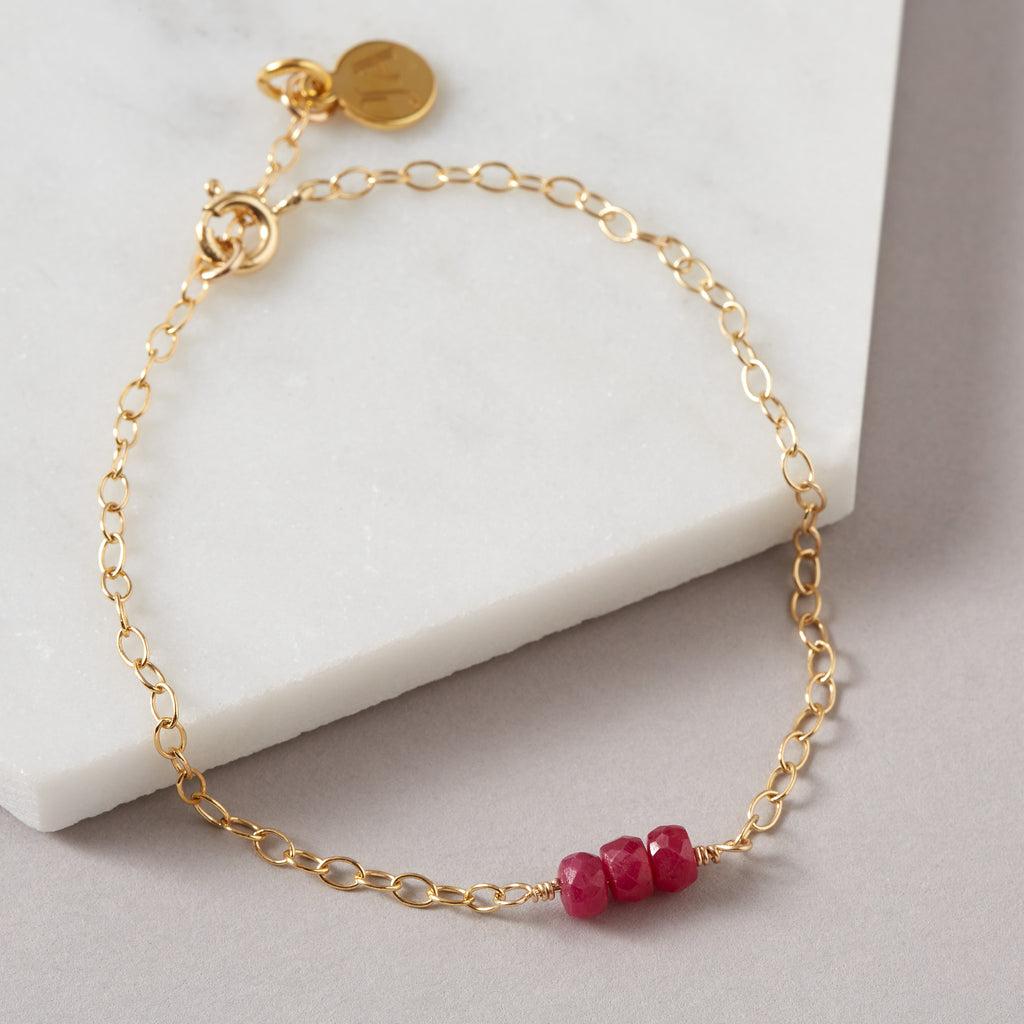Ruby Bracelet | Health, Wisdom & Wealth