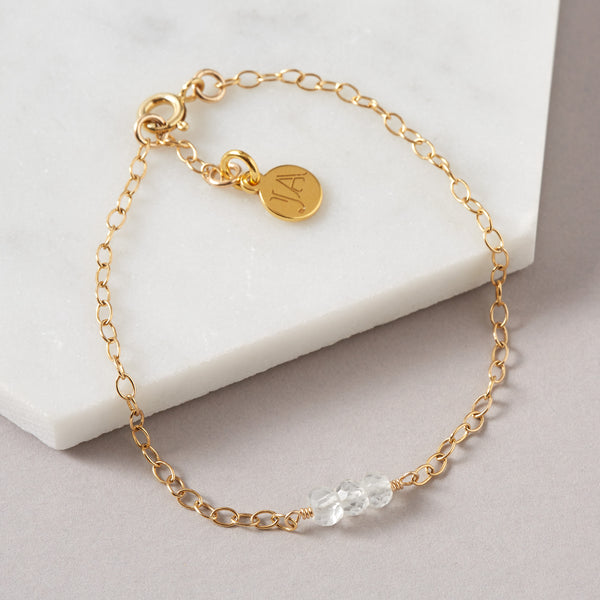 Clear Quartz Bracelet | Energy & Purity
