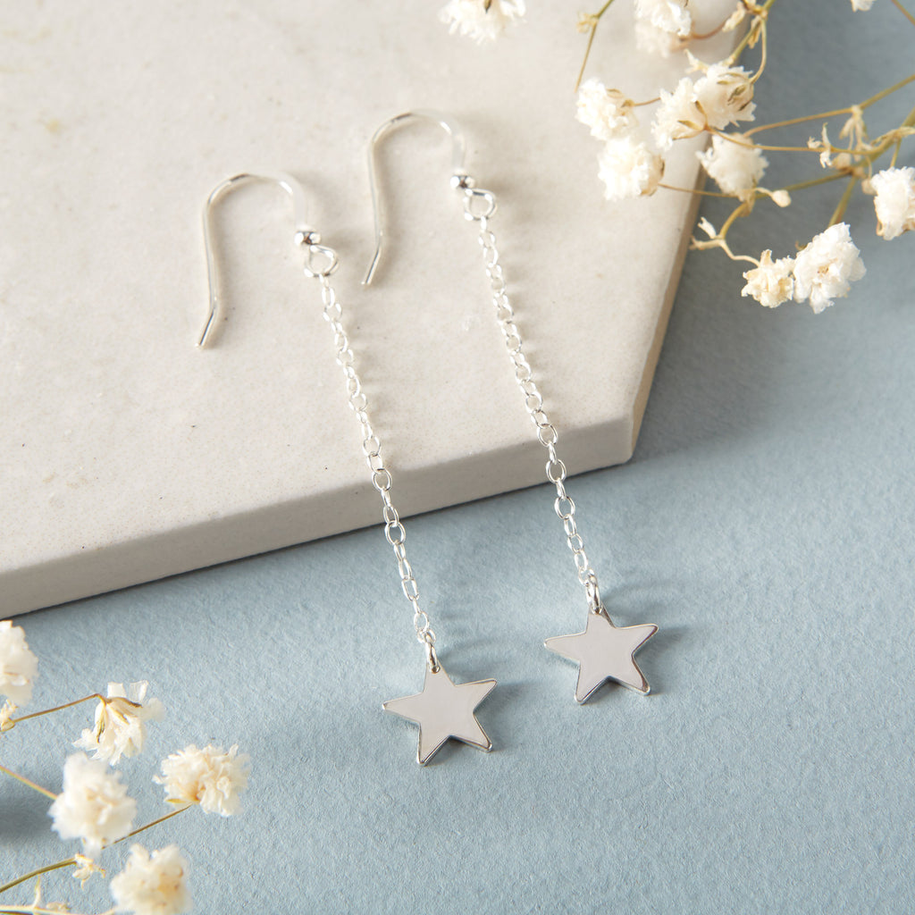 Star Hook Earrings