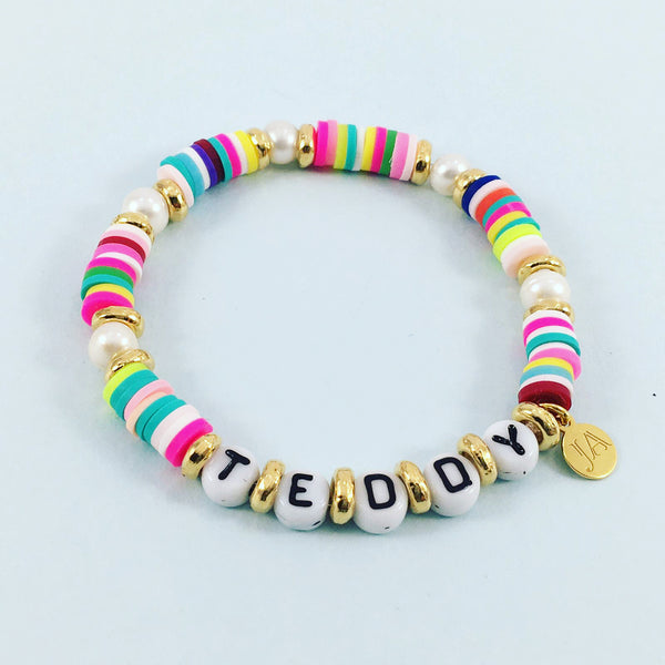 Personalised Happy Bracelet