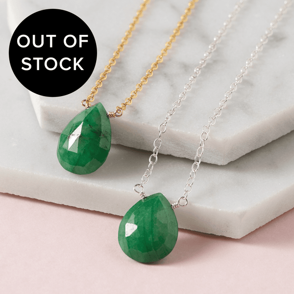 Emerald Necklace | Love & Patience