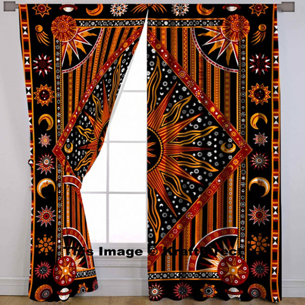 THE MAGNIFICENT MULTICOLOUR MAGIC MANDALA CURTAIN