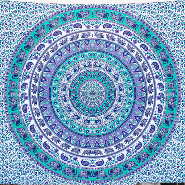 Abstract Queen Size Mandala Bedding and Wall Tapestry - KraftDirect