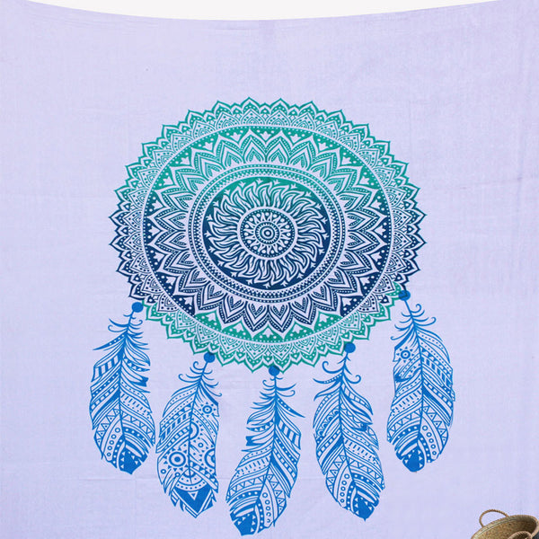 BLUE DREAM CATCHER TAPESTRY AND BEDDING