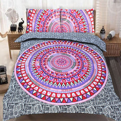THE PINK STORY DUVET DOONA COVER SET