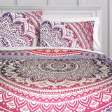 The Pink Ombre Duvet Doona Cover Set WITH PILLOW COVERS - KraftDirect