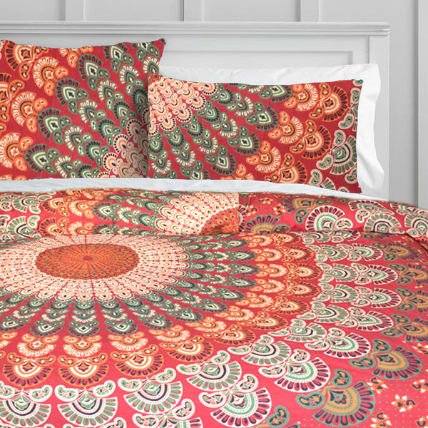 Royal Mandala Duvet Doona Cover Set - KraftDirect