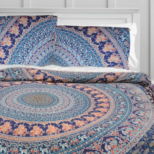 The Voyage Mandala Duvet Doona Cover Set - KraftDirect