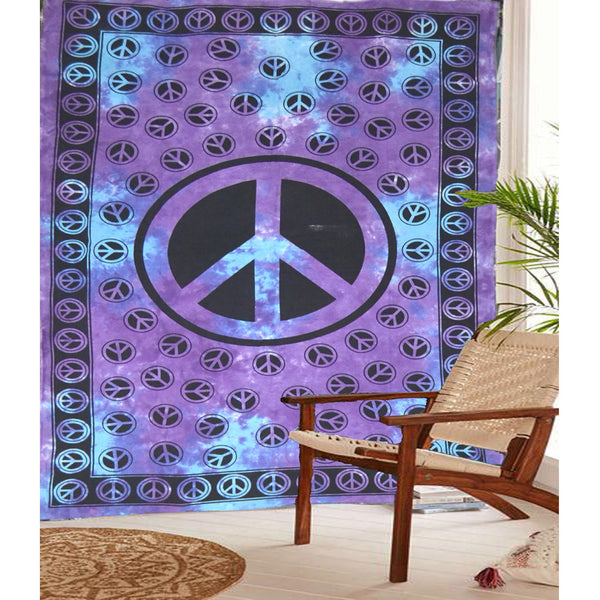 THE PEACE TAPESTRY AND BEDDING