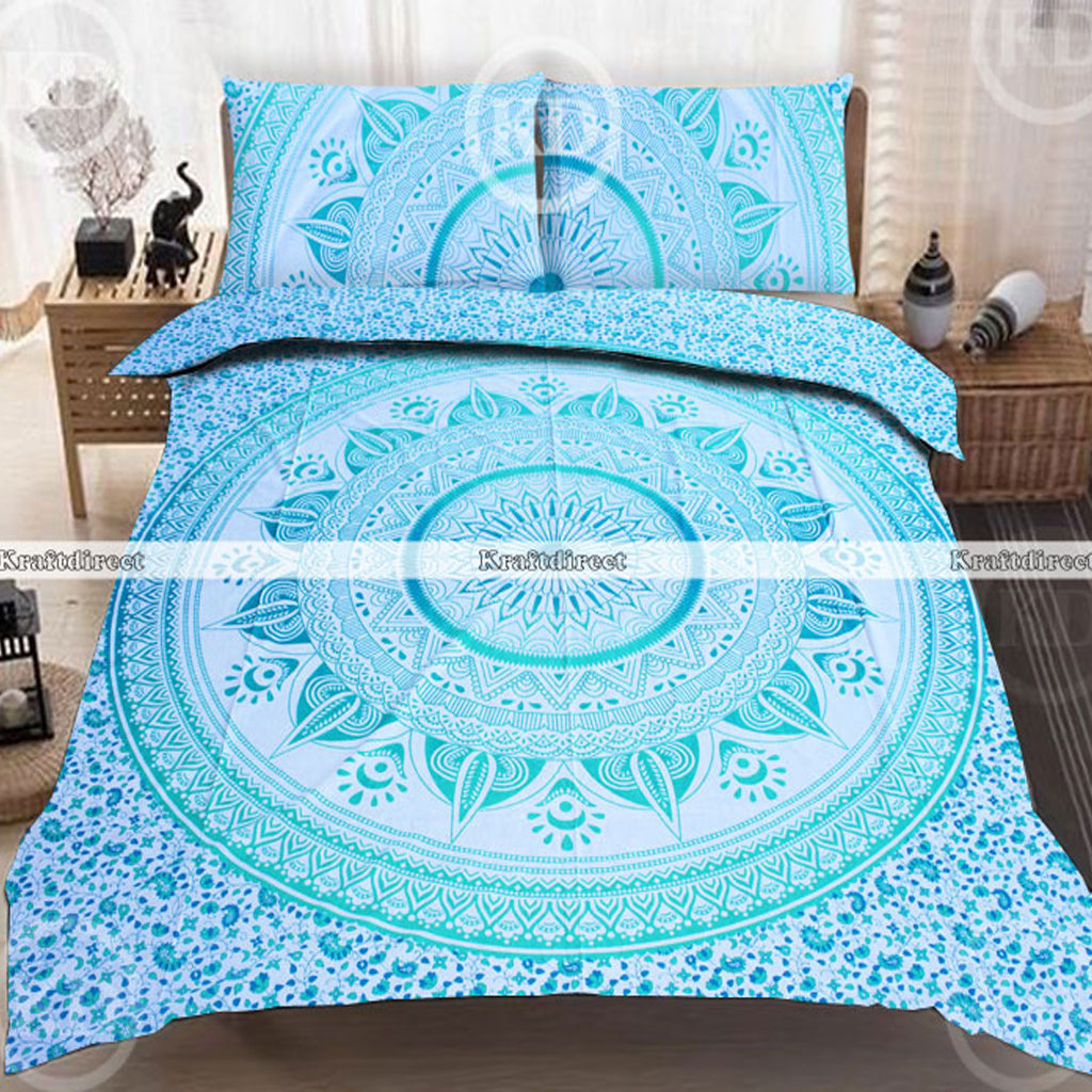 medallion magical outfitters thinking duvet pin cover urban circle
