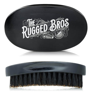 100% Wild Boar Bristle Beard Brush
