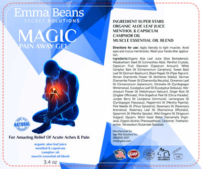 Emma Beans Magic Pain Away Gel